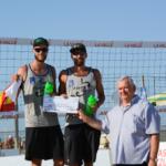 Dollinger/Erdmann GER with Mr.Marino Moroni - Pro Loco Marina di Ravenna