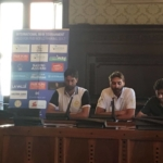 Press Conference @ Municipio di Ravenna: Michele Rota (Volley Action) - Enrico Lupatelli (PowerBeach)